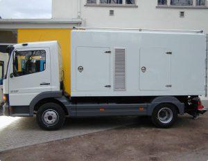 LKW Generator mobile Stromversorgung